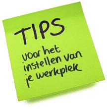 ergonomische tips voor je werkplek